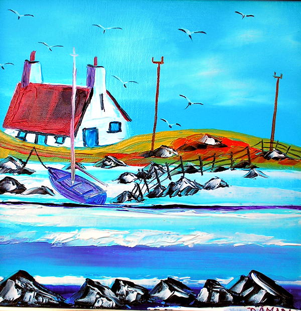 Wee Croft on Uist outer hebrides 30x30